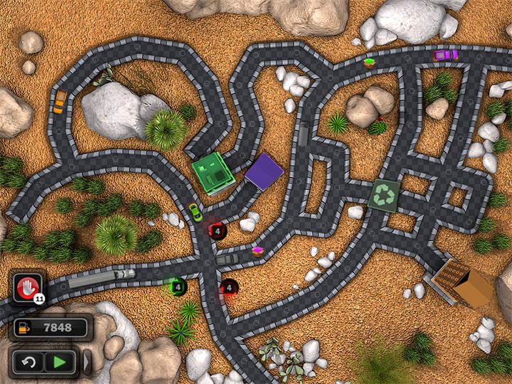 traffic wonder game play screenshot